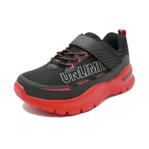スニーカー アンリミティブ UNLIMITIV 防水タイプ W-01-F 面ファスナー レッド 2523368-RED キッズ シューズ 靴 20SS|pistacchio