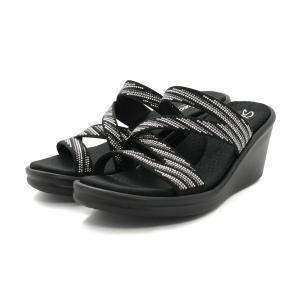 スニーカー スケッチャーズ SKECHERS RUMBLERS-MEGAFLASH ブラック/シルバー 32925-BKSL レディース シューズ 靴 20SS|pistacchio
