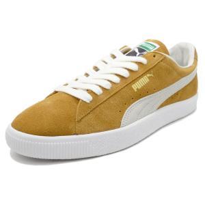 スニーカー プーマ PUMA スウェード90681 ハニーマスタード/プーマ ホワイト メンズ レディース シューズ 靴|pistacchio