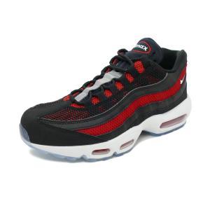 スニーカー ナイキ NIKE エアマックス95エッセンシャル ブラック/ホワイト/ユニバーシティレッド メンズ シューズ 靴 19SU|pistacchio