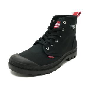 スニーカー パラディウム PALLADIUM パンパハイデア ブラック メンズ シューズ 靴 19SS|pistacchio