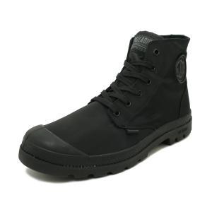 スニーカー パラディウム PALLADIUM パンパパドルライトWP+ ブラック/ブラック メンズ レディース シューズ 靴 19SS|pistacchio