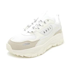 スニーカー アキクラシック AKIII CLASSIC アーバントラッカー ホワイト/グレー AKC-0003-WTG レディース シューズ 靴|pistacchio