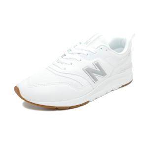 スニーカー ニューバランス NEW BALANCE CM997HCN ホワイト/シルバー NB メンズ レディース シューズ 靴 19SS|pistacchio