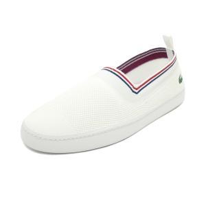 スニーカー ラコステ LACOSTE L.YDRO 119 1 CMA ホワイト/レッド メンズ シューズ 靴 19SS|pistacchio