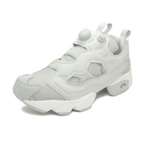 スニーカー リーボック REEBOK インスタポンプフューリーOG スカルグレー/ホワイト メンズ レディース シューズ 靴|pistacchio