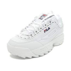スニーカー フィラ FILA ディスラプター2テイピーテープ ホワイト F0494-1091 メンズ レディース シューズ 靴 20SS|pistacchio