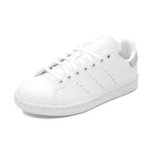 スニーカー アディダス adidas スタンスミスJ フットウェアホワイト/シルバーメタリック/コアブラック FW0745 レディース シューズ 靴 20Q4 pistacchio