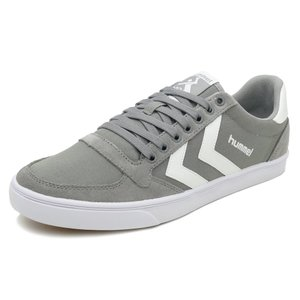 HUMMEL SLIMMER STADIL CANVAS LOW【ヒュンメル スリマースタディールキャンバスロー】frost grey(フロストグレー)HM63112K-2094 18SS|pistacchio