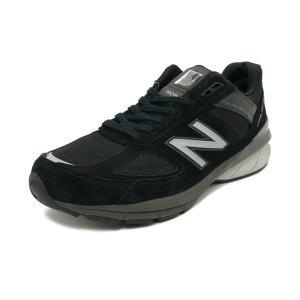 スニーカー ニューバランス NEW BALANCE M990BK5 ブラック/シルバー NB メンズ シューズ 靴 19SS|pistacchio