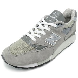 NEW BALANCE M998 GY gray 【ニューバランス M998GY グレー】 スニーカー NB Made In USA アメリカ製|pistacchio