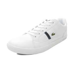 スニーカー ラコステ LACOSTE ヨーロッパ 0120 1 ホワイト/ダークグリーン SM00070-1R5 メンズ シューズ 靴 20Q3|pistacchio