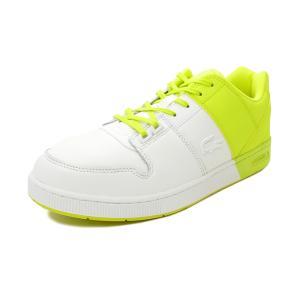 スニーカー ラコステ LACOSTE スリル 0320 1 ホワイト/イエロー SM00530-V05 メンズ シューズ 靴 20Q3|pistacchio