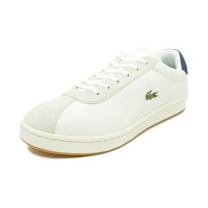 スニーカー ラコステ LACOSTE マスターズ 119 3 SMA オフホワイト/ネイビー メンズ シューズ 靴 19SS|pistacchio