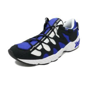スニーカー アシックスタイガー ASICS Tiger ゲルマイ ブルー/ブラック メンズ レディース シューズ 靴|pistacchio