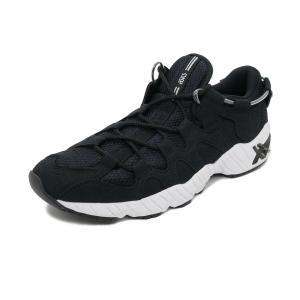 スニーカー アシックスタイガー ASICS Tiger ゲルマイ ブラック メンズ レディース シューズ 靴|pistacchio