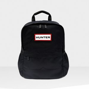 ハンター HUNTER オリジナルナイロンスモールバックパック ブラック pistacchio