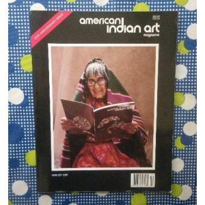 インディアン伝統工芸専門誌 洋書 American Indian Art 20周年記念号 Kenneth Begay ナバホ ジュエリー/Maria Martinez プエブロ陶器 陶芸
