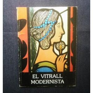 ステンドグラス 洋書■El Vitrall Modernista ジョアン・ミロ美術館■大聖堂/教会/ガラス工芸/デザイン