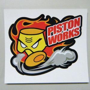 【PISTON】オリジナル◆野郎ステッカー◆|piston