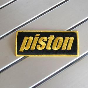 【PISTON】オリジナル◆PISTONロゴワッペン◆|piston