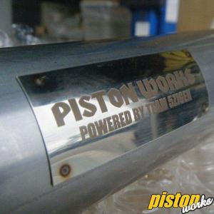 ジムニーマフラー JB23用 PISTON WORKSフロントパイプ 60φ|piston|03