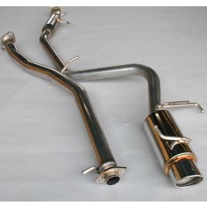 ジムニーマフラー JB23用 PISTONWORKSマフラー&フロントパイプ|piston