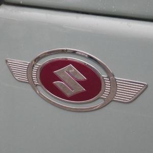 スズキ純正「エンブレム2枚セット」二輪ハスラーエンブレム復刻版|piston