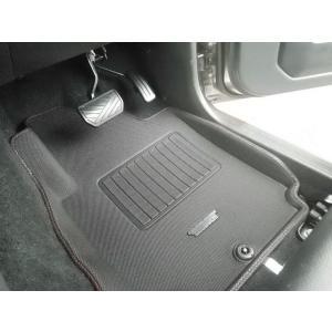 タニグチ「立体ラバーマット」AT車用・フロント2枚セット|piston