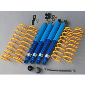 新型ジムニー専用リフトアップサスキット 「PISTONワークススプリング ビルシュタインキット」1インチアップ JB64W|piston
