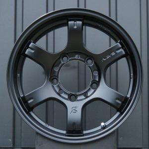 ジムニーホイール RAYSグラムライツ57JX 「セミグロスブラック」 5本セット|piston