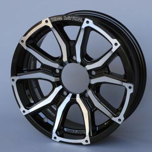 新型ジムニー対応ホイール RAYS TEAM DAYTONA STX-J 「ブラック/ダイヤモンドカット」 インセット20(オフセット+20) 4本セット|piston