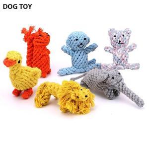 ●ITEM:犬用 おもちゃ ワンちゃん用 犬 いぬ ドッグ ロープ アニマル ぬいぐるみ ペットグッ...