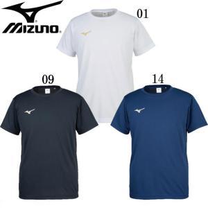 Tシャツ(ユニセックス) MIZUNO ミズノトレーニングウエア ミズノ Tシャツ18SS (32JA8152)|pitsports