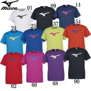 BS Tシャツ ビッグRBロゴ(ユニセックス) MIZUNO ミズノトレーニングウエア ミズノTシャツ18SS (32JA8155)|pitsports