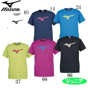 BS Tシャツ ビッグRBロゴ(ジュニア) MIZUNO ミズノJR トレーニングウエア ミズノTシャツ18SS (32JA8155)|pitsports