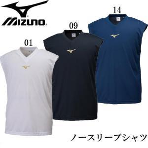 ノースリーブシャツ(ユニセックス) MIZUNO ミズノトレーニングウエア ミズノ Tシャツ18SS (32JA8172)|pitsports
