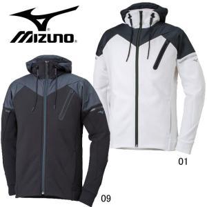 ストレッチフリースヘビージャケット(メンズ)【MIZUNO】ミズノ トレーニングウエア18AW(32MC8660) pitsports