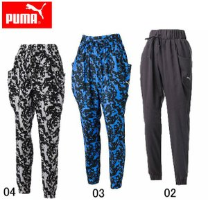 ウーブンロングパンツ (WOMAN)  PUMA プーマ   レディースウエア (514231)|pitsports