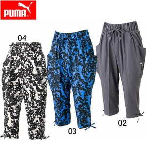 ウーブン3 4パンツ (WOMAN)  PUMA プーマ   レディースウエア (514232)|pitsports