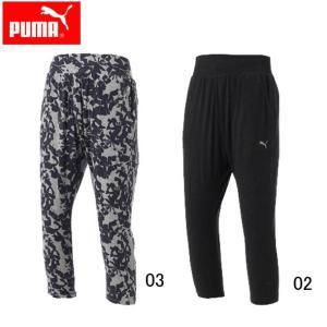3 4ニットパンツ (WOMAN) 【PUMA】プーマ ● レディースウエア (514233)|pitsports