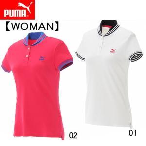 ポロシャツ(WOMAN)  PUMA プーマ   レディースウエア (571138)|pitsports