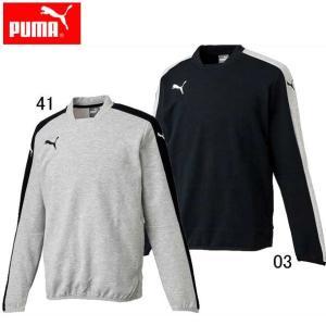 TWV カジュアルクルーネックスウェット(メンズ) 【PUMA】プーマ ●サッカーウエア (654890)|pitsports