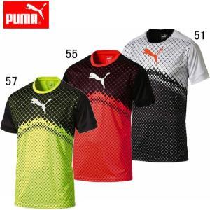 IT evoTRG グラフィックSSTEE(メンズ) 【PUMA】プーマ ●サッカーウエア (655158)|pitsports
