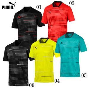 FTBLNXT グラフィックシャツ  PUMA プーマ サッカー プラクティスシャツ19FH (656615)|pitsports