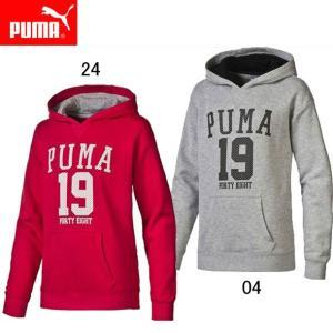 GL フーデッドスウェット(ジュニア) 【PUMA】プーマ ●ジュニアウエア (839050)|pitsports