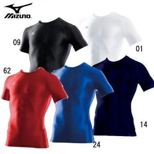 バイオギアシャツ(丸首半袖) 【MIZUNO】ミズノ インナーシャツ バイオギア (A60BS356)15SS|pitsports