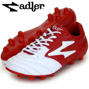 ビーゴ MS adler アドラー サッカースパイク18SS(AD126-WHITE/RED)|pitsports