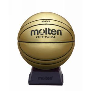 サインボール ゴールド 【molten】モルテン 記念品 バスケットボール (bgg2gl)