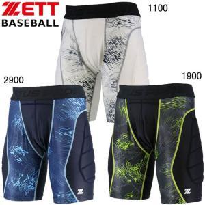 プロステイタス スライディングパンツ パット付き ZETT ゼット  野球 ウエア18FW(BP45...